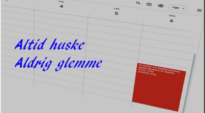 Kalender tips