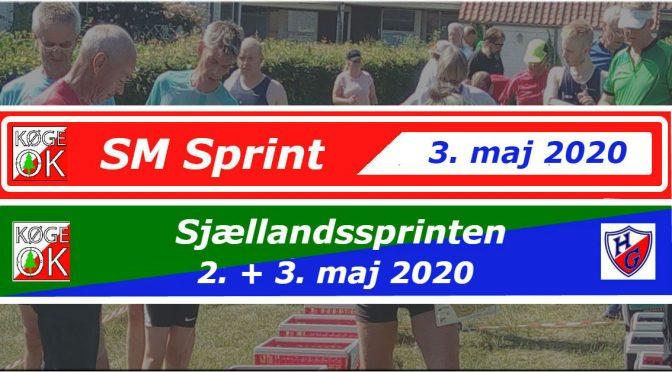 SM sprint og Sjællandssprint 2020