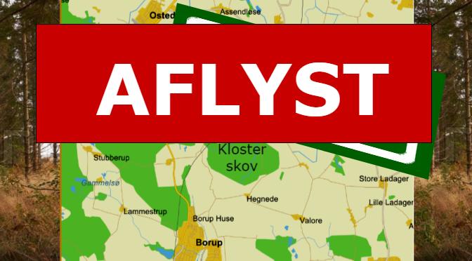 2. Påskedagsløb i Klosterskov AFLYST