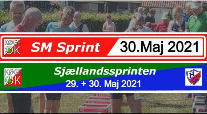 Resultater fra SM Sprint og Sjællandssprinten